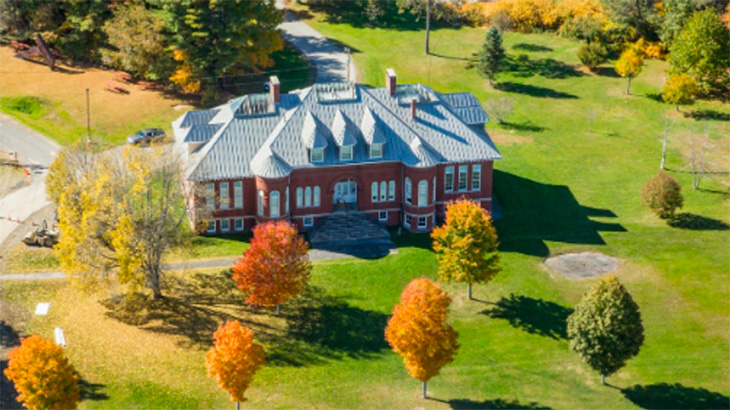 Aerial photo of Good Will-Hinckley