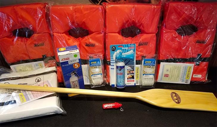 Boat Safety Kit: Good Will-Hinckley